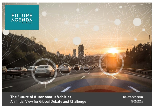 Future of autonomous vehicles initial perspective