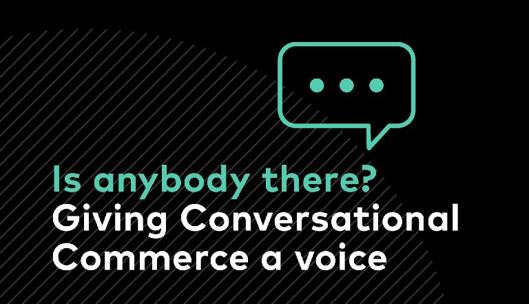 Trusted Conversational Commerce
