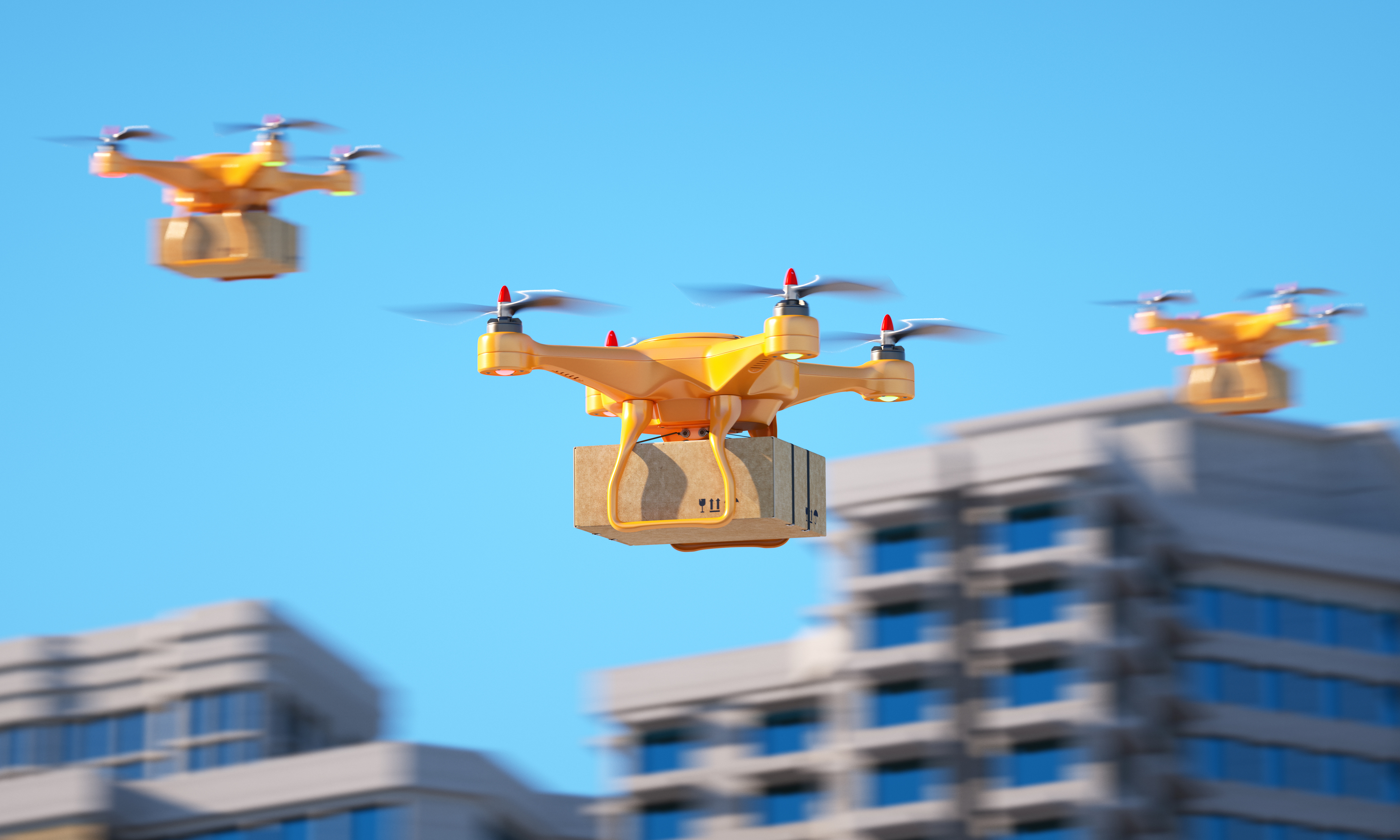 Drones for Goods and People